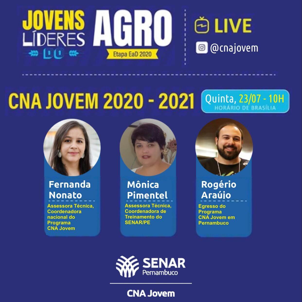 Live: CNA Jovem 2020-2021